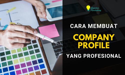 Jasa Website & Branding – Membuat Company Profile yang Profesional